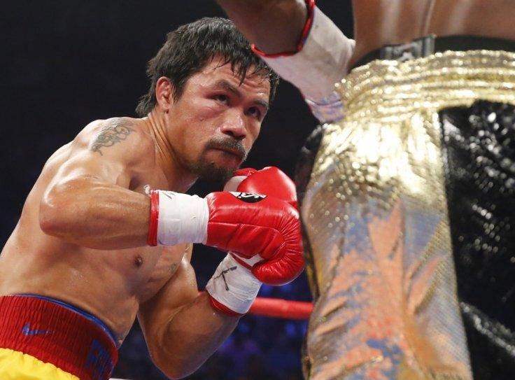 Manny Pacquiao hopes to win senate seat after final bout