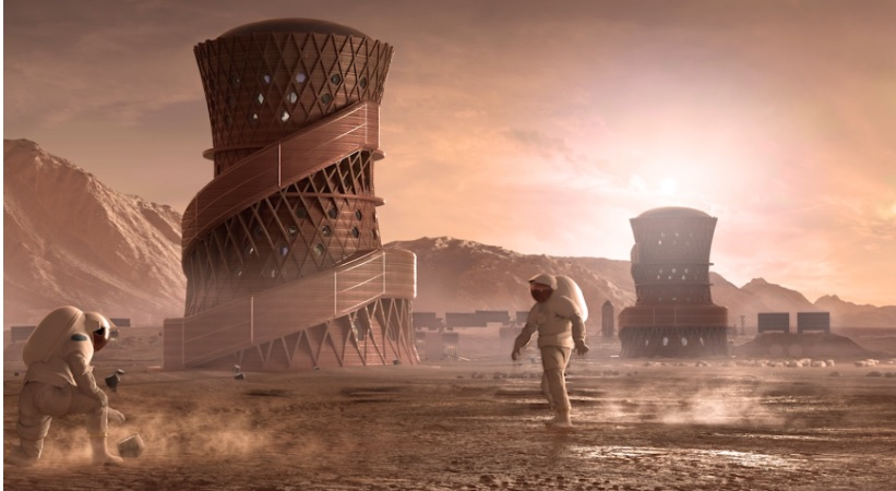 Here's How SpaceX will Reach Mars and Establish a Human City There