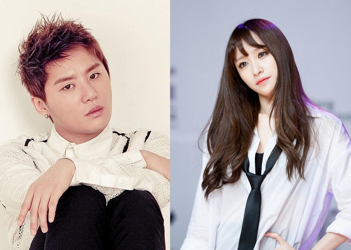 JunSu och Hani dating