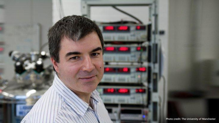 At NUS, Prof Novoselov will lead a new research group focussing on intelligent materials. (Photo: The University of Manchester)