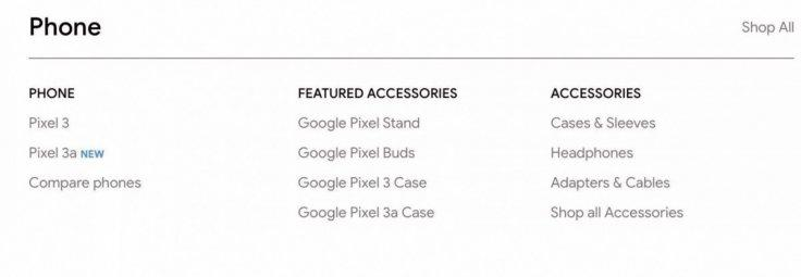 Pixel 3a 'New' gets listed on Google Store9to5Google (screen-grab)