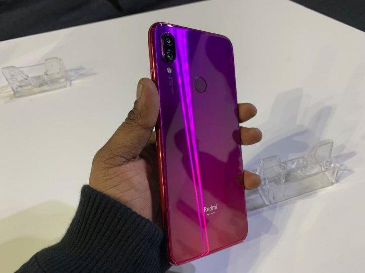 Xiaomi Redmi Note 7 Pro Nebula Red modelKVN Rohit/IBTimes India