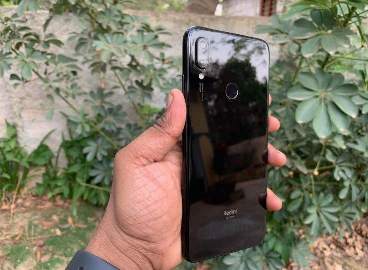 Xiaomi Redmi Note 7 Pro black colour variant.KVN Rohit/IBTimes India