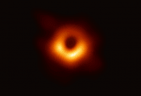 Using the Event Horizon Telescope, scientists obtained an image of the black hole at the center of galaxy M87, outlined by emission from hot gas swirling around it under the influence of strong gravity near its event horizon.