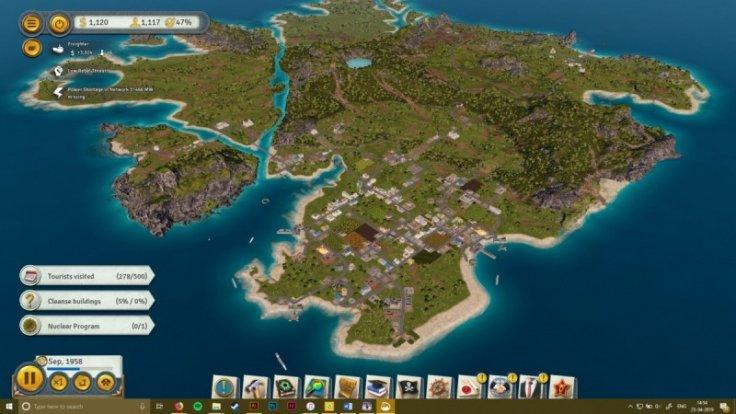 Tropico 6 features huge maps