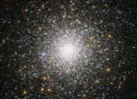 This sparkling burst of stars is Messier 75