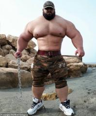 The Iranian Hulk is getting ready to make his MMA debut