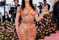 Kim Kardashian at Met Gala 2019