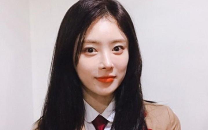 South Korean actress Han Ji Seong aka Seo I.