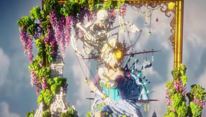 'The Perfect Marionette' has been created on Minecraft by Uchio Tokura