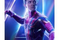 Tom Holland on the poster of Avengers: Endgame