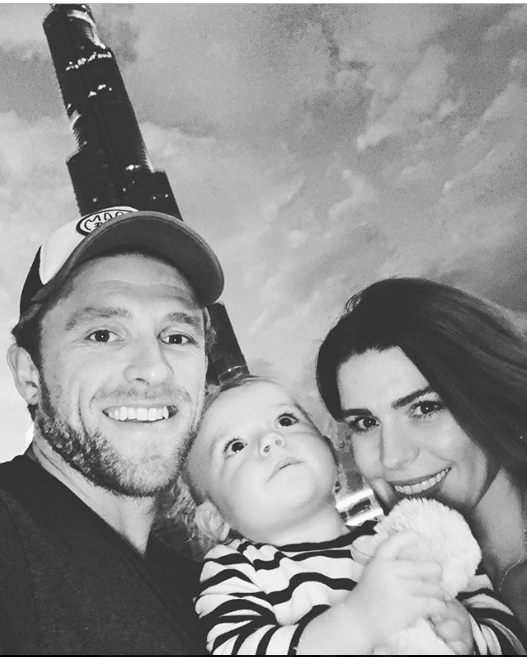David Willey with family