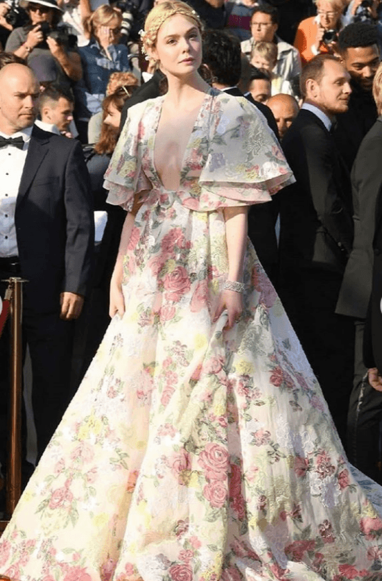 Elle Fanning at Cannes 2019