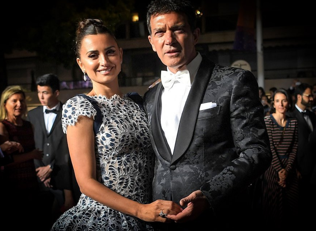 Antonio Banderas and Penélope Cruz