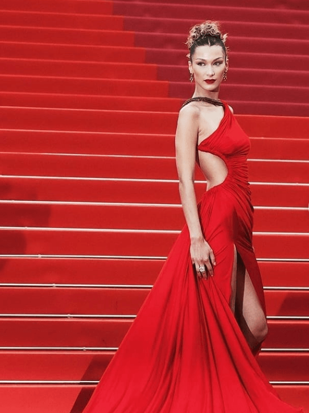 Bella Hadid at Cannes 2019