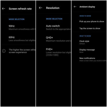 Display settings for OnePlus 7 ProIBTimes India