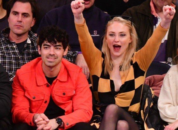 Sophie Tuner and Joe Jonas
