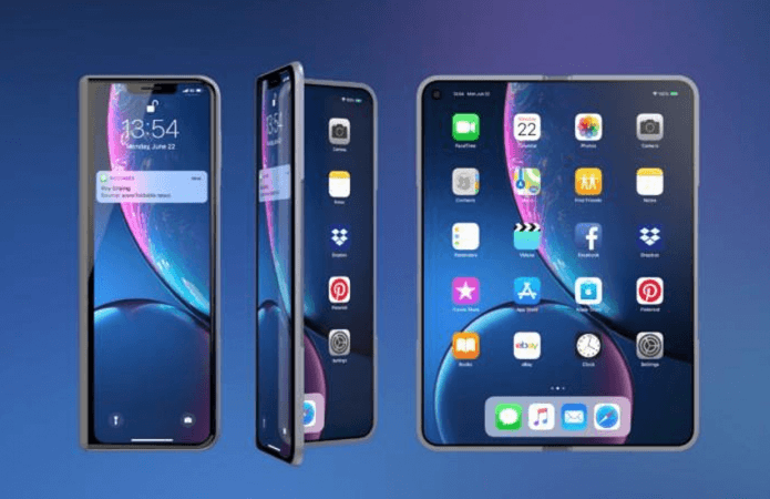 Foldable iPhone conceptRoy Gilsing