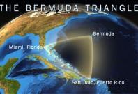 Location of Bermuda Triangle.