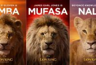 The Lion King character postersTwitter