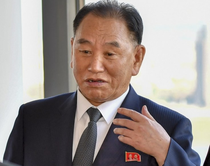 Kim Yong-chol, the envoy of North Korean leader Kim Jong-un. He met United States President Donald Trump in Washington on Friday, June 1, 2018, and handed him a letter from Kim. (Photo: State Dept./IANS)