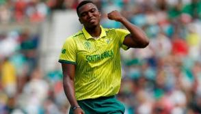 Ngidi won't play against India due to injury
