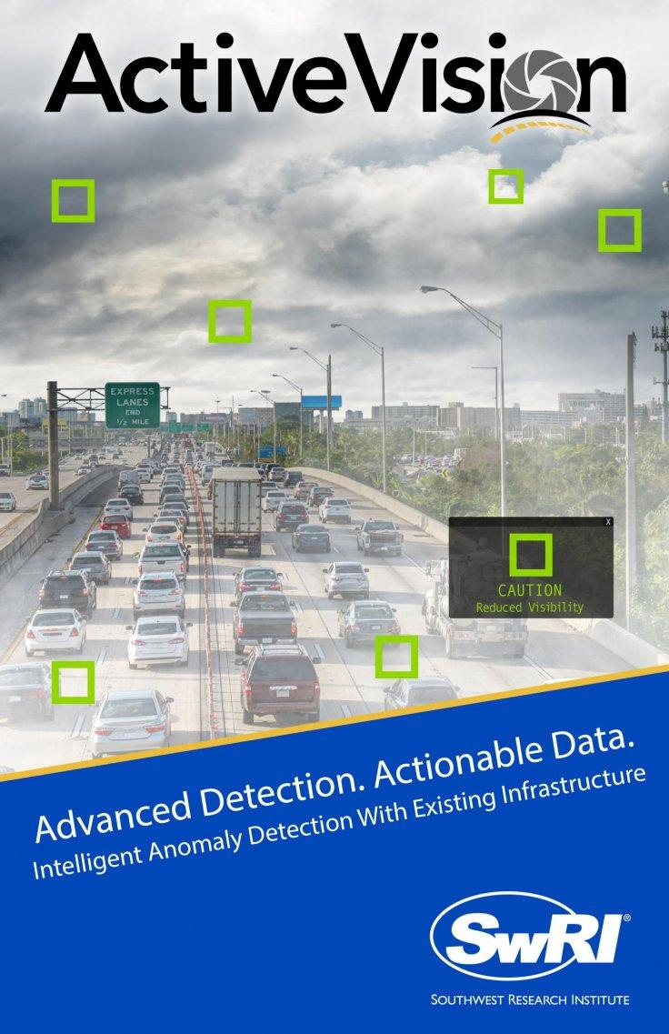 ActiveVision applies a combination of advanced computer vision and machine learning capabilities to detect and report actionable traffic condition changes.
