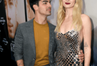 Joe Jonas and Sophie Turner at Chasing Happiness premiere.Instagram