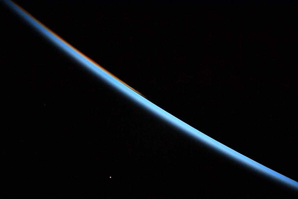 Venus at Sunrise From the Space Station