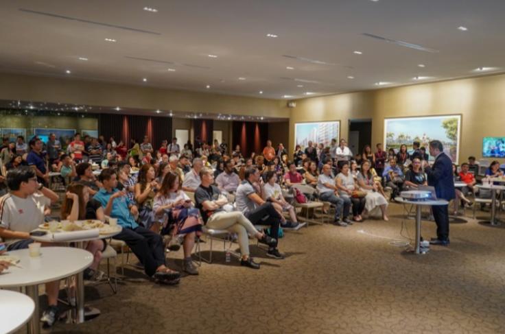 Ultimate Consumer Seminar by ERA KEO Eugene Lim at Treasures At Tampines Showflat
