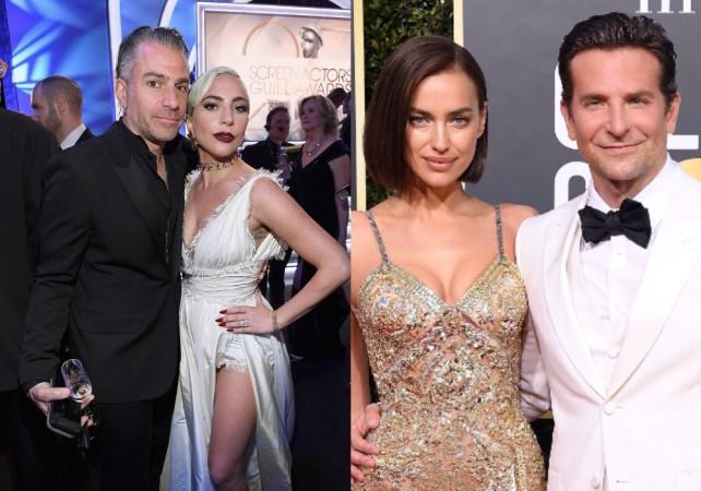 Christian Carino, Lady Gaga, Irina Shayk and Bradley Cooper