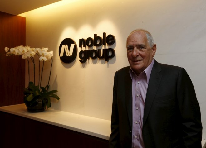 Noble Group warns of Q4 loss, $1.2 bln impairment on commodities slump