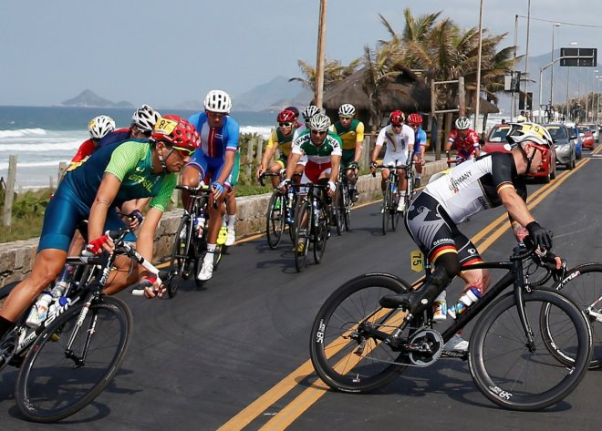 Men's C4-5 road race in Rio Paralympics