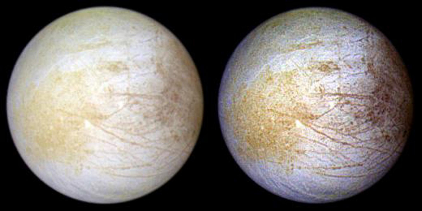 Yeah, there's totally water vapor on Jupiter's moon Europa