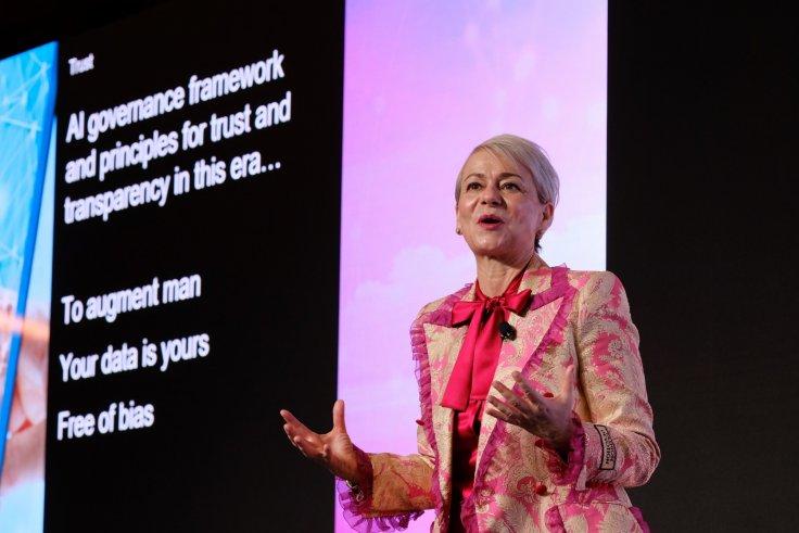 IBM's Harriet Green delivering opening keynote.