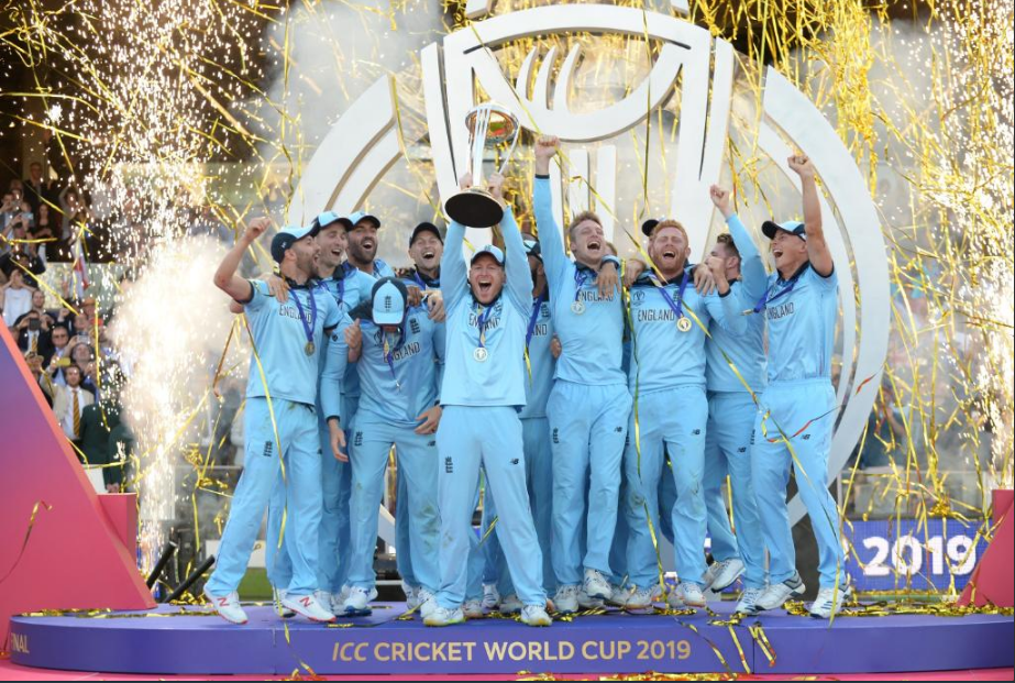 England won their firstICC cricket world cup