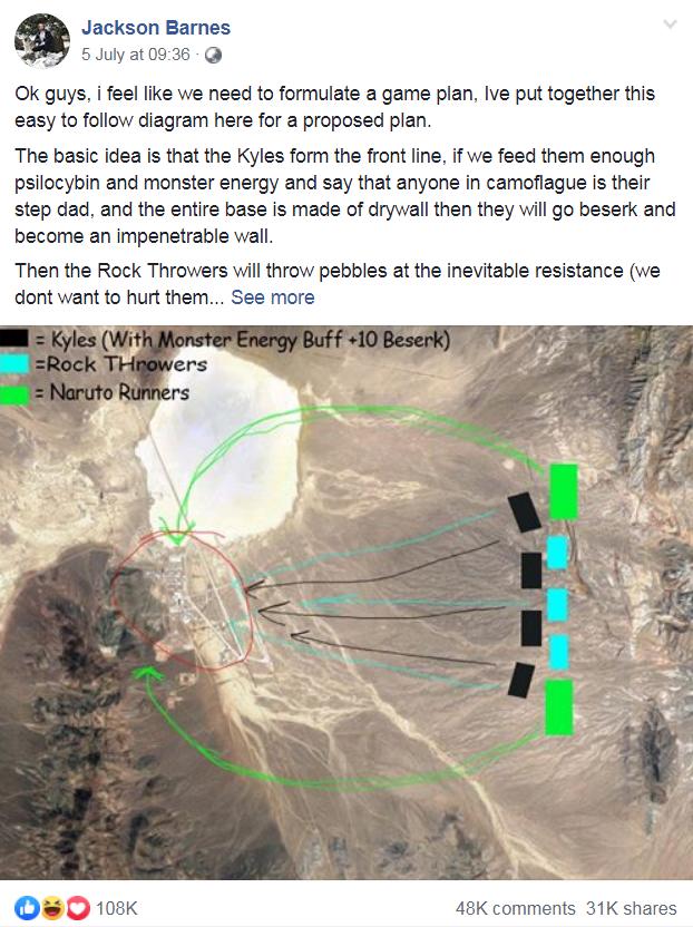 Invade Area 51