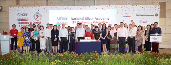 National Silver Academy's 3rd anniversary