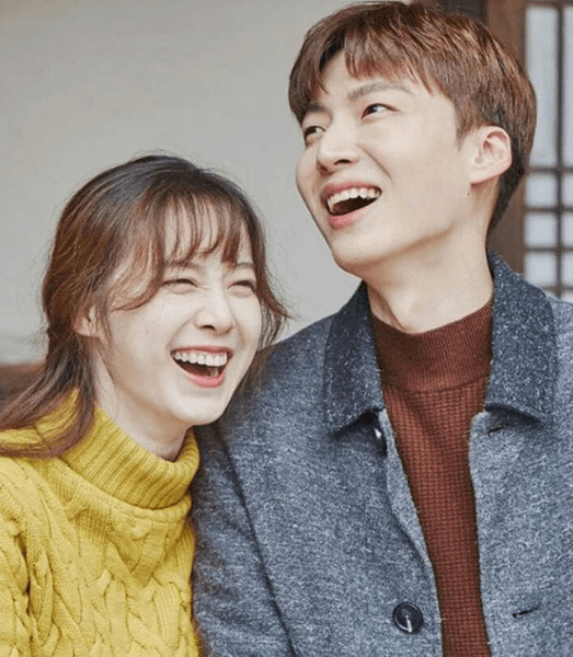 Ku Hye Sun and Ahn Jae Hyun