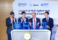 NUS, Agilent and NUH collaboration