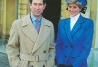 Princes Diana and Prince Charles