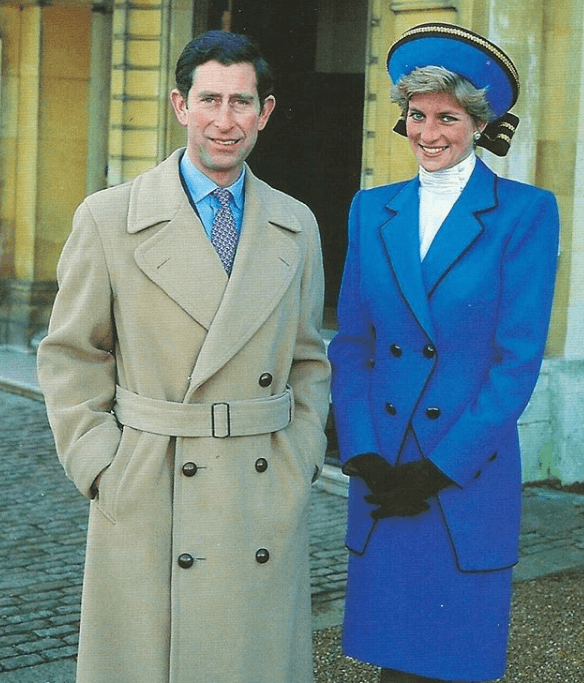 Princes Diana and Prince Charles