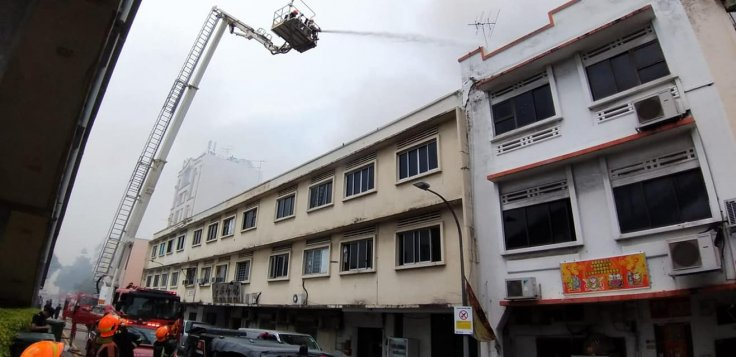 Geylang Lorong 4 fire incident