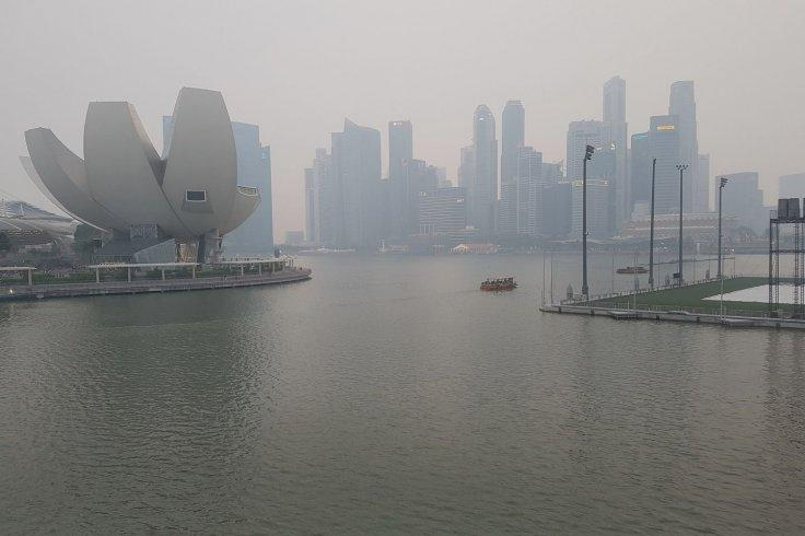 Singapore air quality enters unhealthy range; thundery showers expected in the island