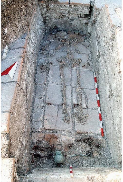 The brick grave