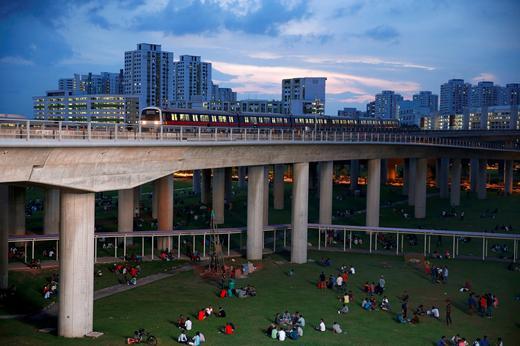 Singapore train service