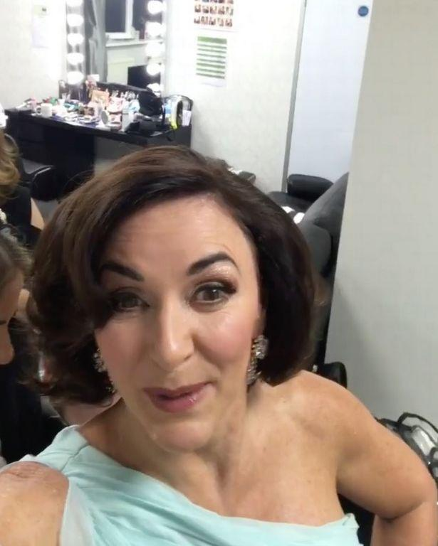 Shirley Ballas Wardrobe Malfunction
