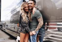 Michael Ray with wife Carly Pearce