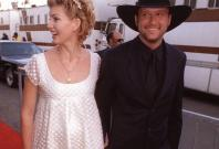 Tom McGraw with wife Faith Hill