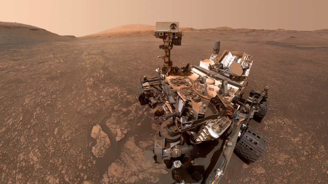 Curiosity rover snaps new selfie while conducting a chemistry experiment
